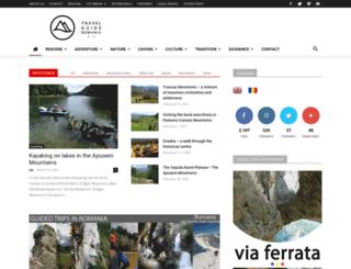 travelguideromania.com screenshot