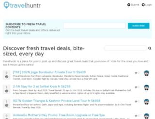 travelhuntr.com screenshot