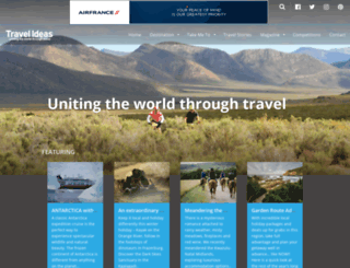 travelideas.co.za screenshot