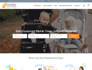 travelingbaby.com screenshot