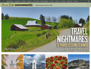 travelingboy.com screenshot