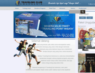 travelingclub-indonesia.com screenshot