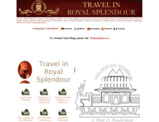 travelinroyalsplendour.com screenshot