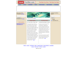 travelinsider.com screenshot
