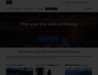travelinsurance.ca screenshot