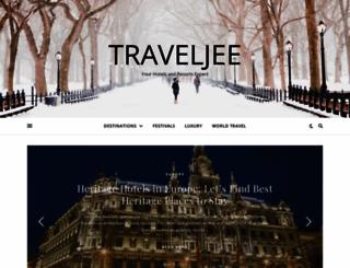 traveljee.com screenshot