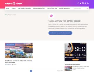 travelmaaza.com screenshot
