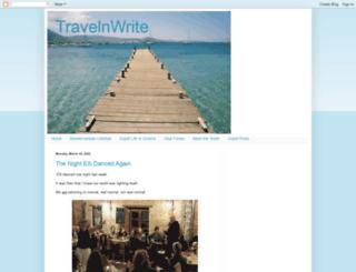 travelnwrite.com screenshot