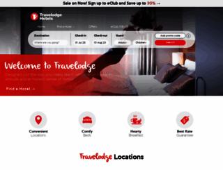 travelodge.com.au screenshot
