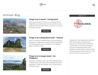 travelodium.com screenshot