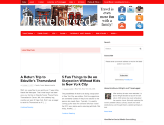 travelogged.com screenshot