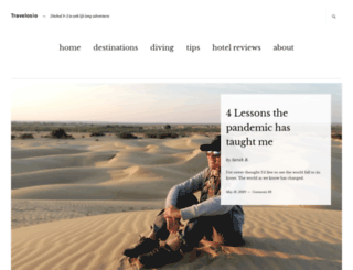 travelosio.com screenshot