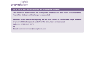 travelplan.com screenshot