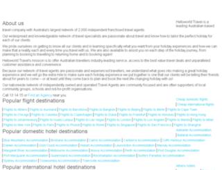 travelscene.net.au screenshot