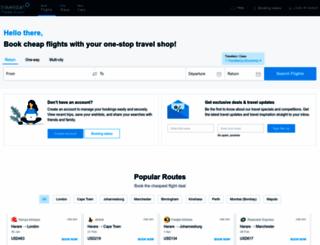 travelstart.co.tz screenshot