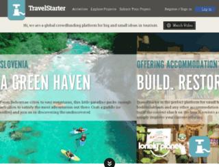 travelstarter.com screenshot