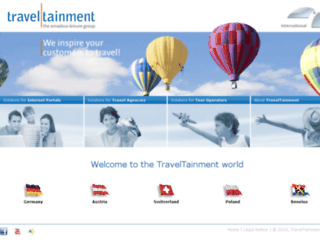 traveltainment.fr screenshot
