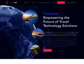 traveltek.net screenshot