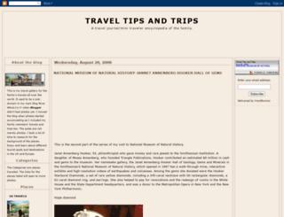 traveltipsandtrips.blogspot.com screenshot