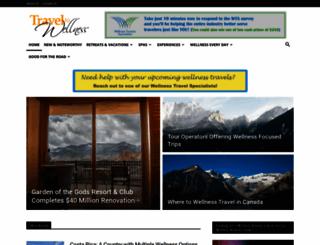 traveltowellness.com screenshot
