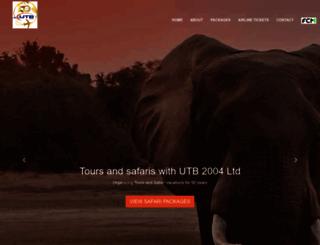 travelutb.com screenshot