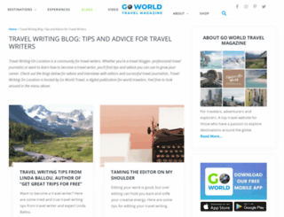 travelwritingonlocation.com screenshot