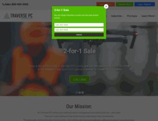 traverse-pc.com screenshot