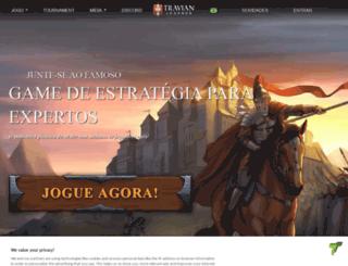 travian.com.br screenshot