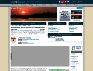 travis.uslakes.info screenshot