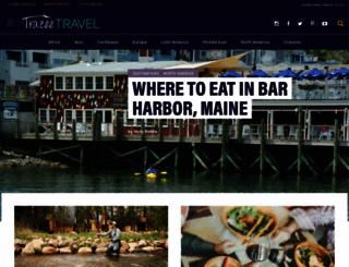 trazeetravel.com screenshot