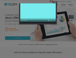 trcrm.com screenshot