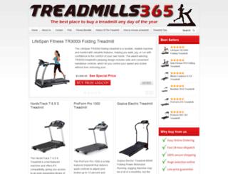 treadmills365.com screenshot