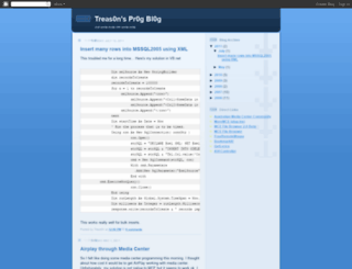 treas0n.blogspot.com screenshot