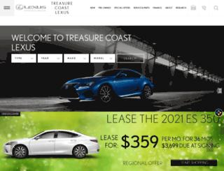 treasurecoastlexus.com screenshot