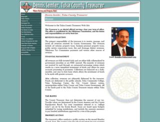 treasurer.tulsacounty.org screenshot