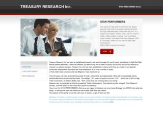 treasurytrader.weebly.com screenshot