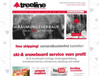 treeline.de screenshot