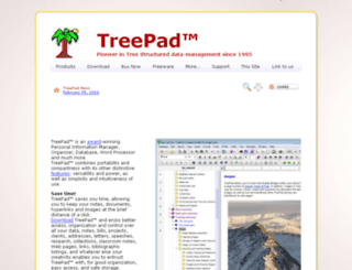 treepad.net screenshot