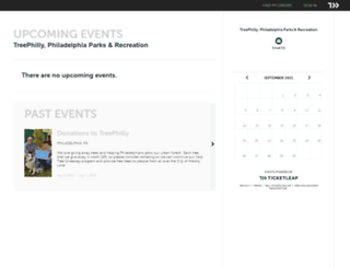 treephilly.ticketleap.com screenshot