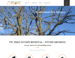 treestumpsremoval.co.uk screenshot