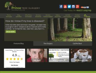 treesurgeryshenfield.co.uk screenshot