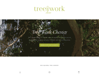 treeworkchester.co.uk screenshot