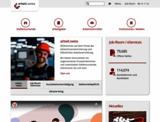 treffpunkt-arbeit.ch screenshot