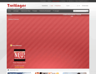 treitinger.de screenshot