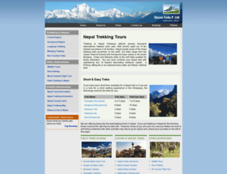 trekkingnepal.biz screenshot