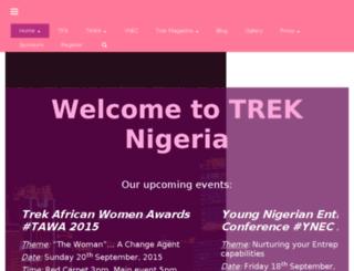 trekng.com screenshot