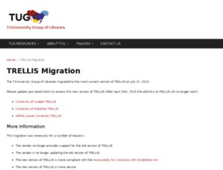 trellis1.tug-libraries.on.ca screenshot