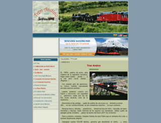trenandino.com screenshot