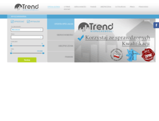 trend-nieruchomosci.pl screenshot