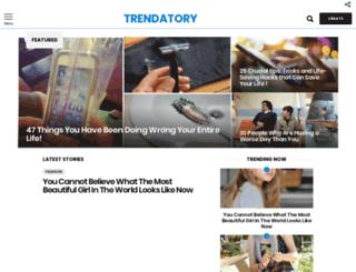 trendatory.com screenshot